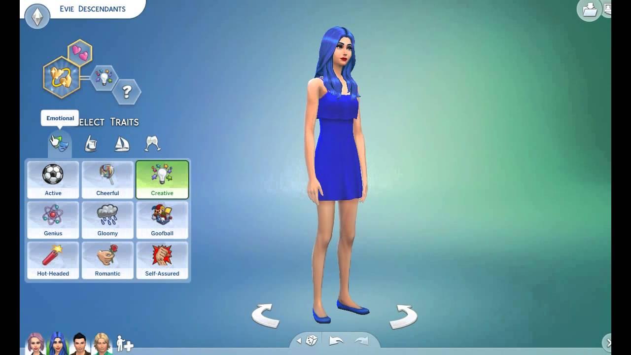 The sims 4 create a sim descendants youtube for House creator simulator