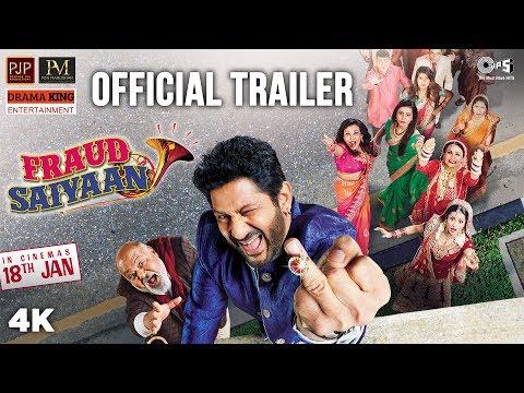 Fraud Saiyaan Official Trailer | Arshad Warsi, Saurabh Shukla, Elli AvrRam, Sara Loren | 18 Jan 2019