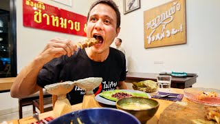 Best Ever PORK SKEWER!! Nęxt Level Thai Food with Chef Num! | Samuay and Sons