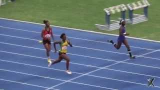 USA-based Shanice McPherson wins Girls U-20 100m - 2013 Ja Nt'l Jnr Trials: SportsXplorer Multimedia