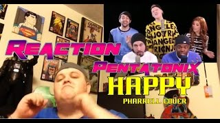 Repeat youtube video Pentatonix - Happy (Pharrell Cover) REACTION!!