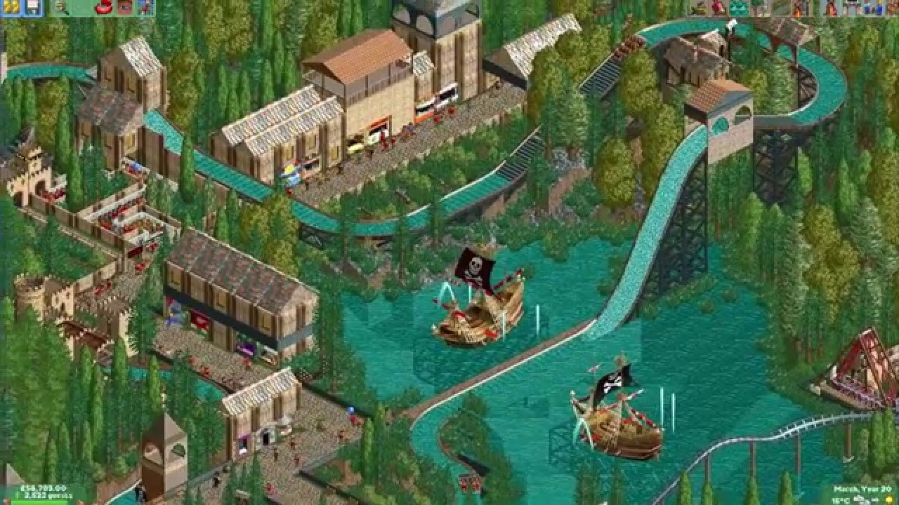 Let's Play Roller Coaster Tycoon 2 - Episode 10 The Final Area