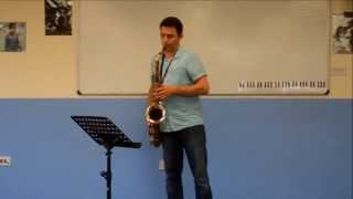 ABRSM - grade 6 saxophone - The Ash Grove