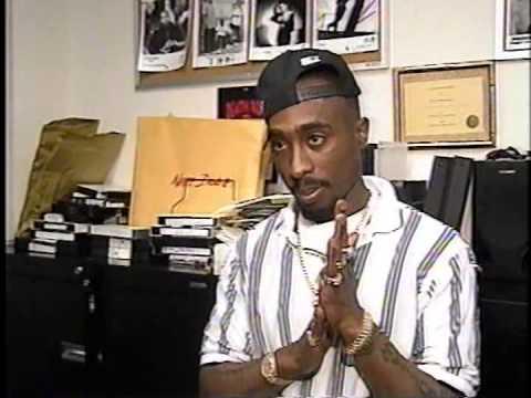 Výsledek obrázku pro Tupac interviewed in Death Row 1995