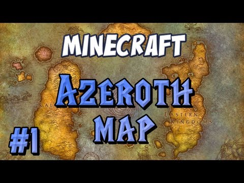 World Of Warcraft Map Part 1 - The Lions Pride