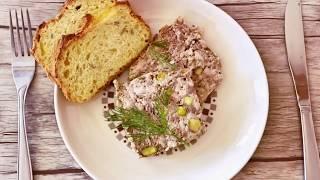 Террин  мясной вкуснейшее французское блюдо