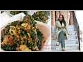 How To Make Spinach & Kale Chicken Stew// Vegetable Stew// Nigerian Recipes