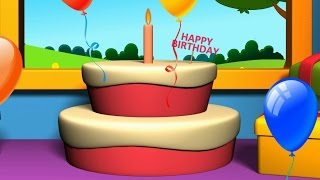 Happy Birthday Song | Nursery Rhymes Collection | Kids Songs For Childrens And Baby