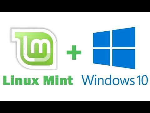 Установка Linux Mint рядом с Windows 10 на компьютере с UEFI – подробная инструкция