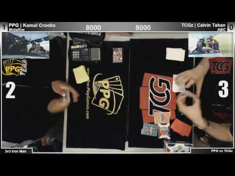PPG vs. TCGz Iron Man TEAM WAR! | ARG Orlando | Round 2 | Kamal Crooks vs. Calvin Tahan