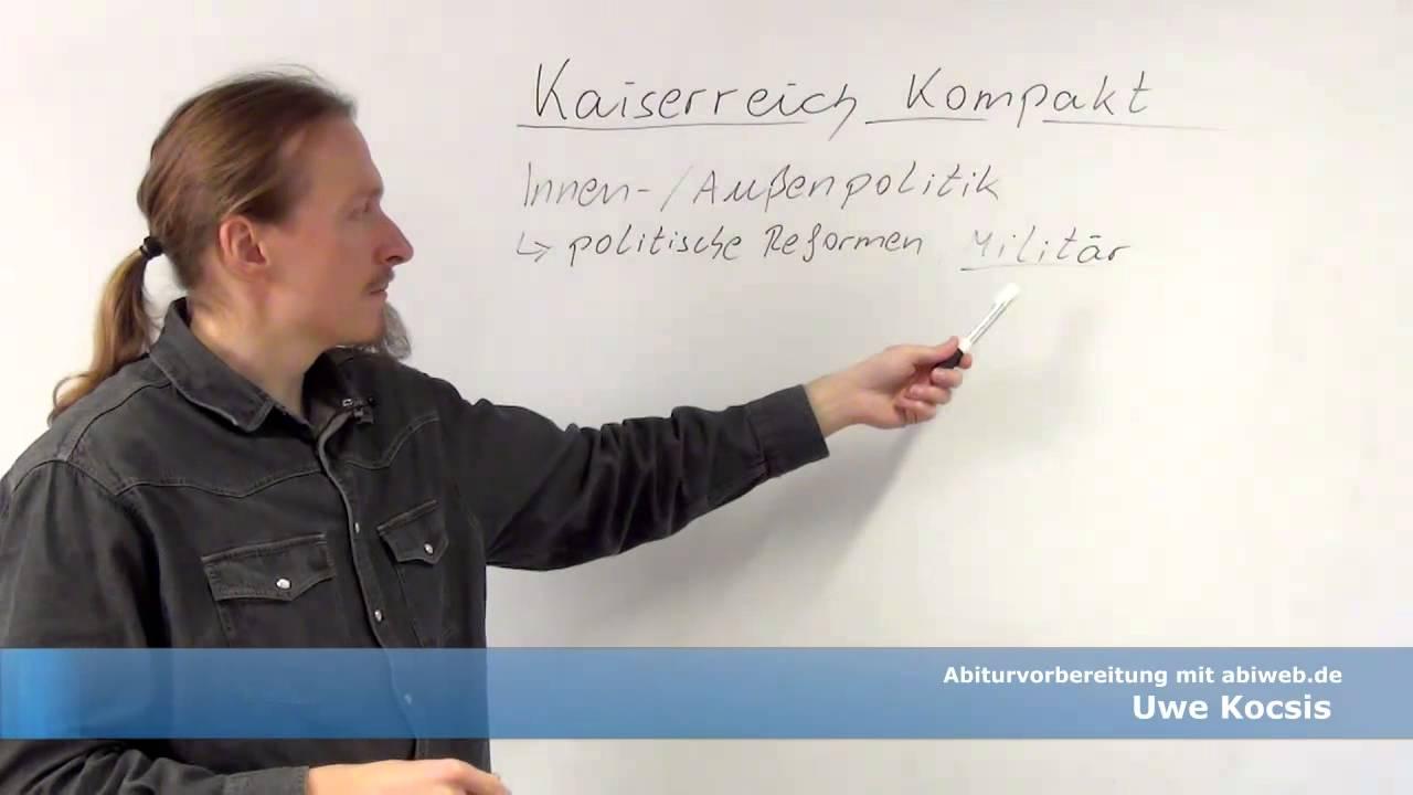 Das Deutsche Kaiserreich Abitur Geschichte Youtube