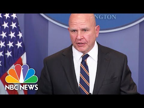 National Security Advisor H.R. McMaster On North Korea: