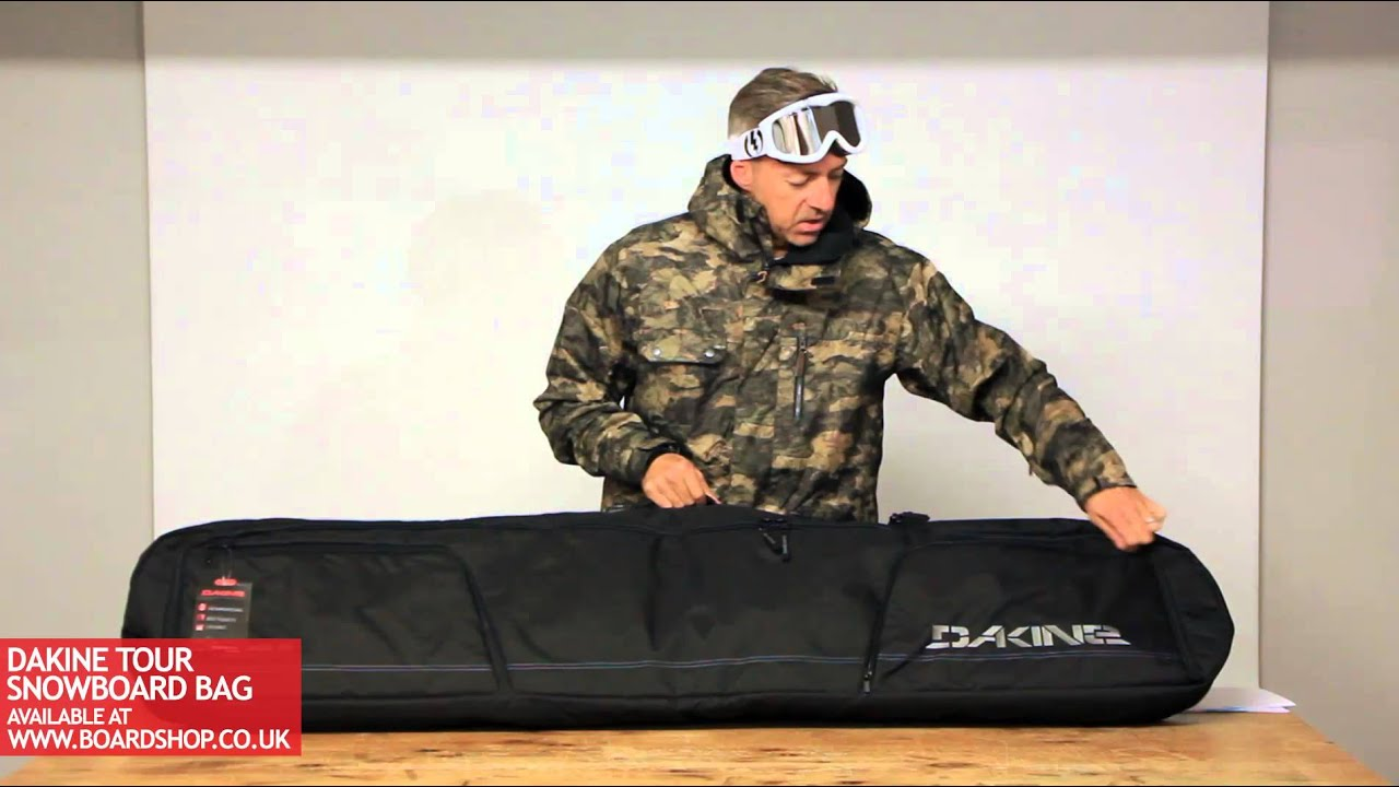 Dakine Tour Snowboard Bag Review