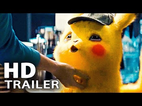 POKEMON: Detective Pikachu - Cute Pikachu Trailer (2019)