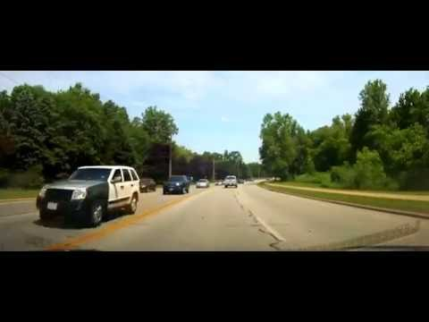 Driving from Olmsted Falls, Ohio to Lorain County