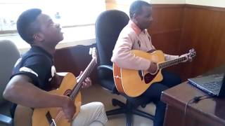 Reuben Kigame and Eugine Masupo. Lets go spanish