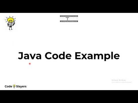 Introduction to Java Basics  | Java Programming Tutorial # 2 | Java Zero to Hero | Code Slayers thumbnail
