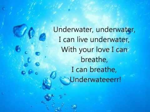 Mika - Underwater (Lyrics on screen)