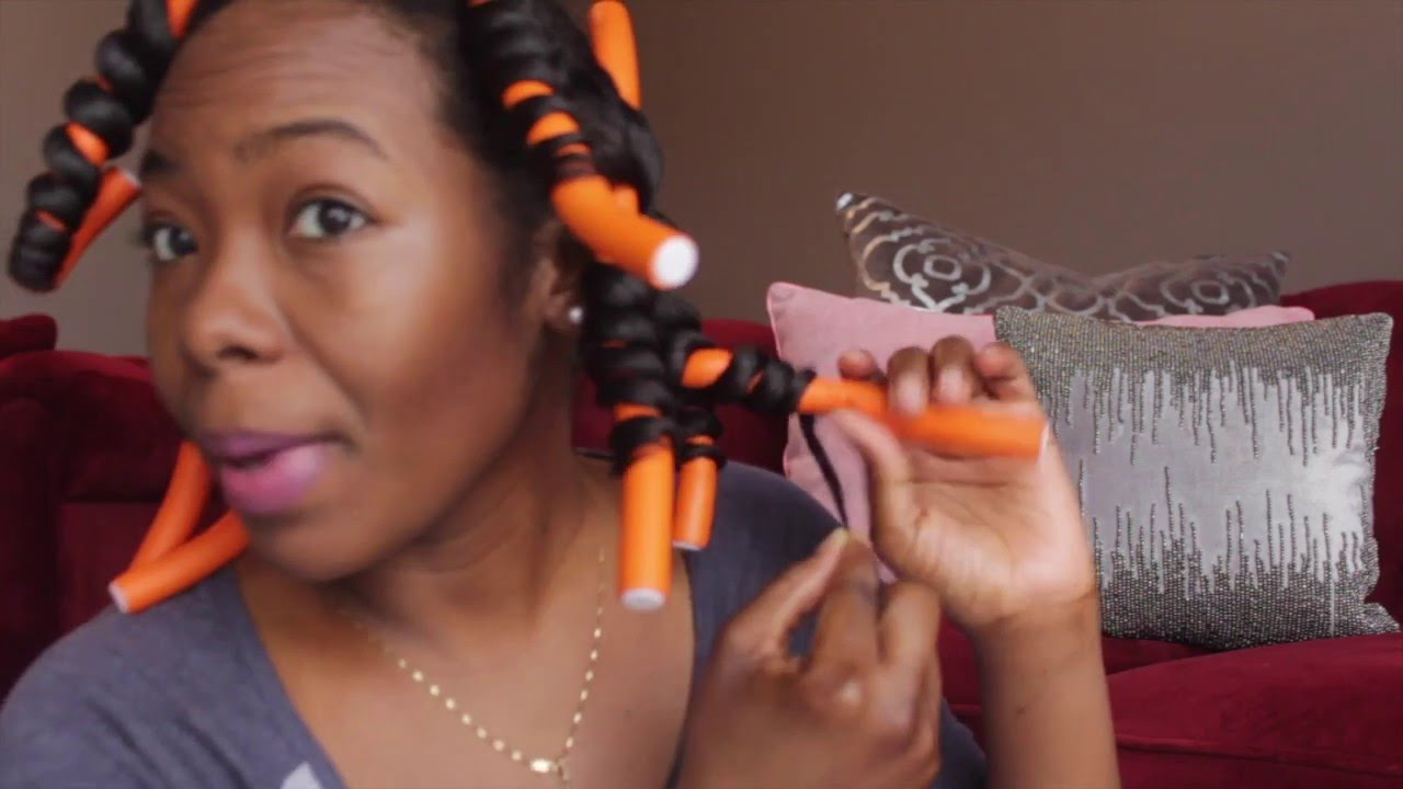 Hair | Updated Flexi Rod Routine