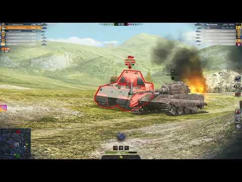 WoT Blitz - Победная тактика #1 от статиста ● Как держать 4к среднего урона ● Танк Е50М (WoTB)