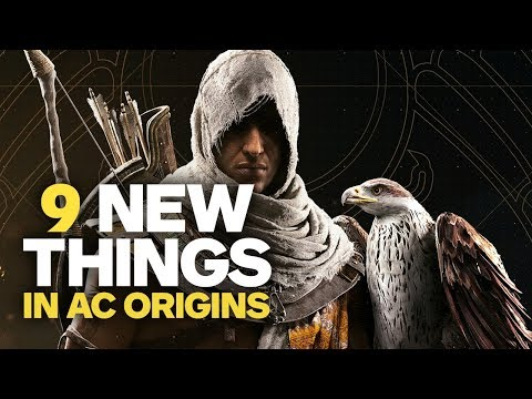 9 New Things in Assassin's Creed Origins