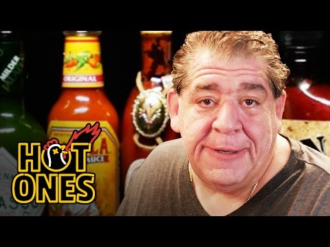"""Joey """"CoCo"""" Diaz Breaks Out the Blue Cheese While Eating Spicy Wings 