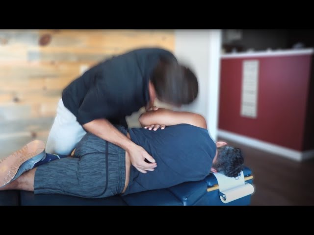 SCIATIC NERVE PAIN From CAR ACCIDENT Relieved With Chiropractic *CRACKS*