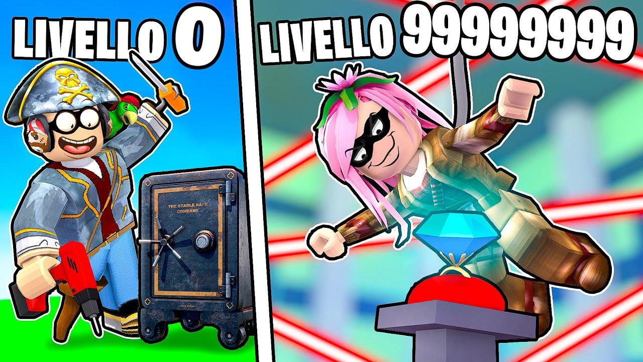RAPINA DA 1€ VS RAPINA DA 1.000.000€! - ROBLOX