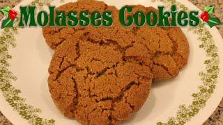 Molasses Cookie  Cookie Week!