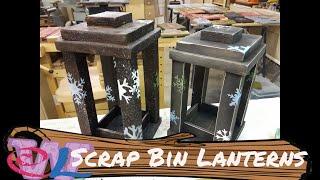 Wooden Lanterns from the Scrap Bin!!