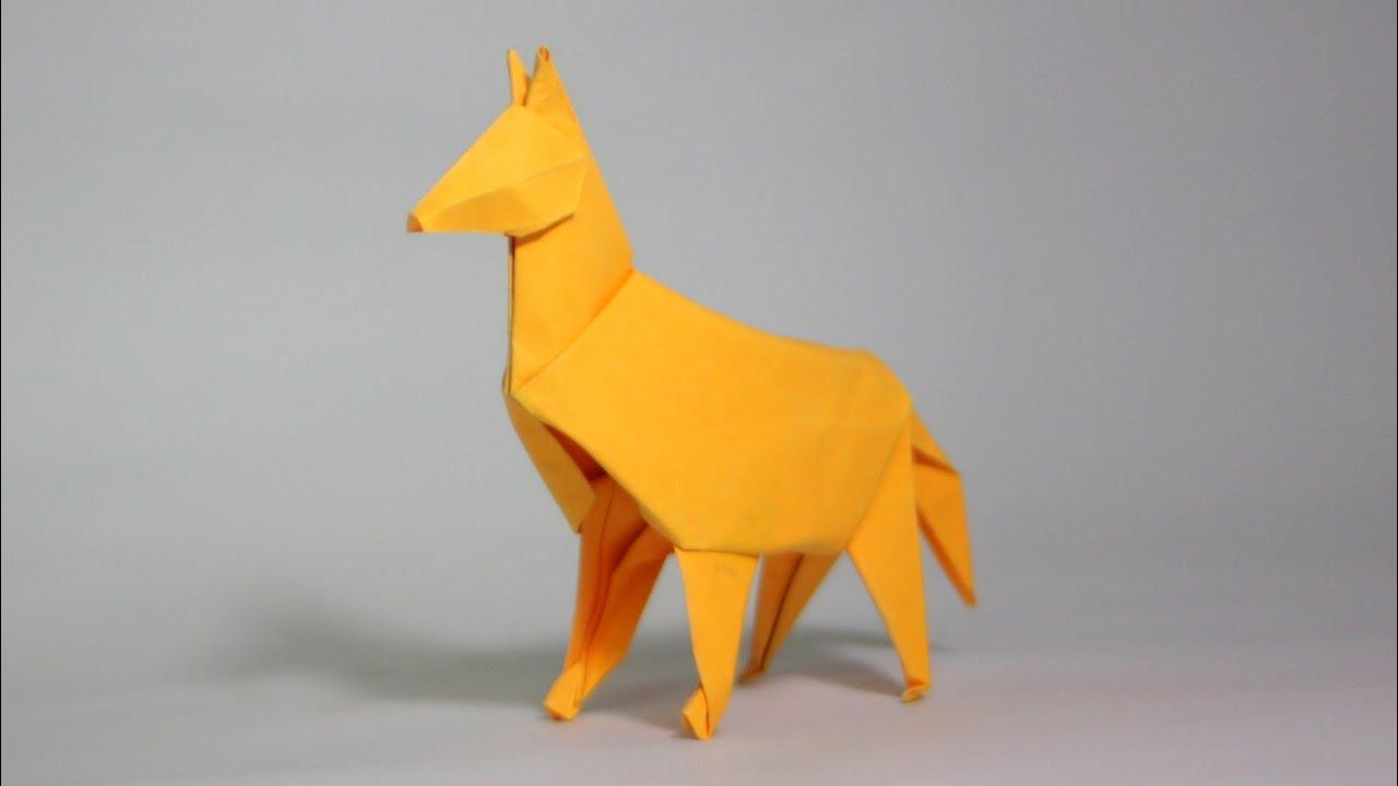 origami dog tutorial henry ph��m youtube