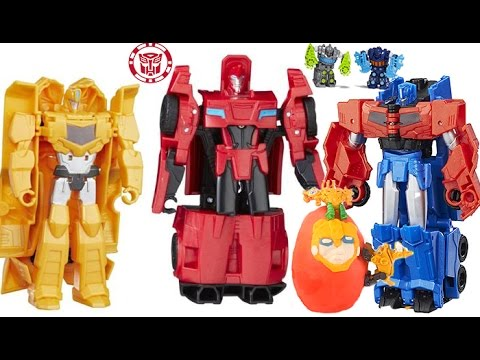 TRANSFORMERS COMPILATION, TOYS, ROBOTS CLASH, COMBINER FORCE ROBOTS IN DISGUISE, SURPRISE BUMBLEBEE