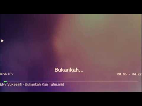 Karaoke Bukankah Kau Tahu Elvy Sukaesih No Vocal HQ audio