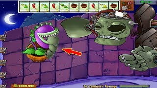Plants vs Zombies Epic Hack 100 Giant Chomber vs Dr. ZomBoss thumbnail