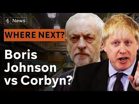 Boris Johnson vs Jeremy Corbyn - where next for Brexit Britain?