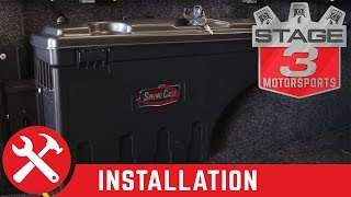 2015 F-150 Undercover Swing Case Drivers Side Storage Box Install