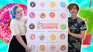 Giant Dunkin Donuts Advent Calendar 2018!
