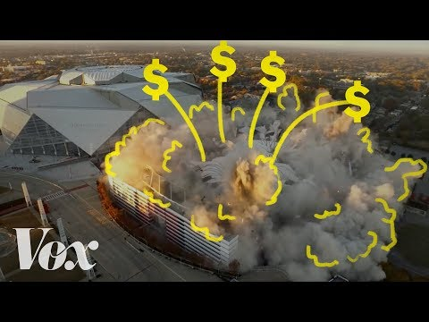 Why do taxpayers pay billions for football stadiums?