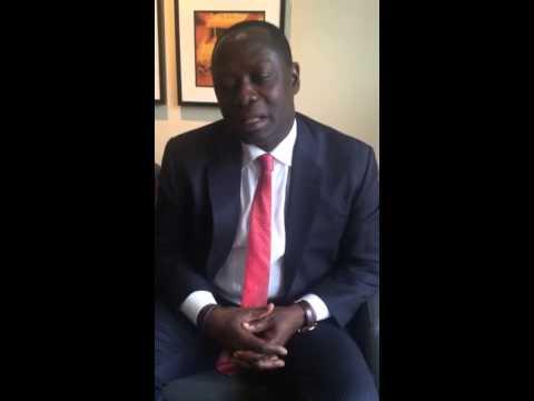 Energy Minister Armah-Kofi Buah speaking on a 3rd FPSO