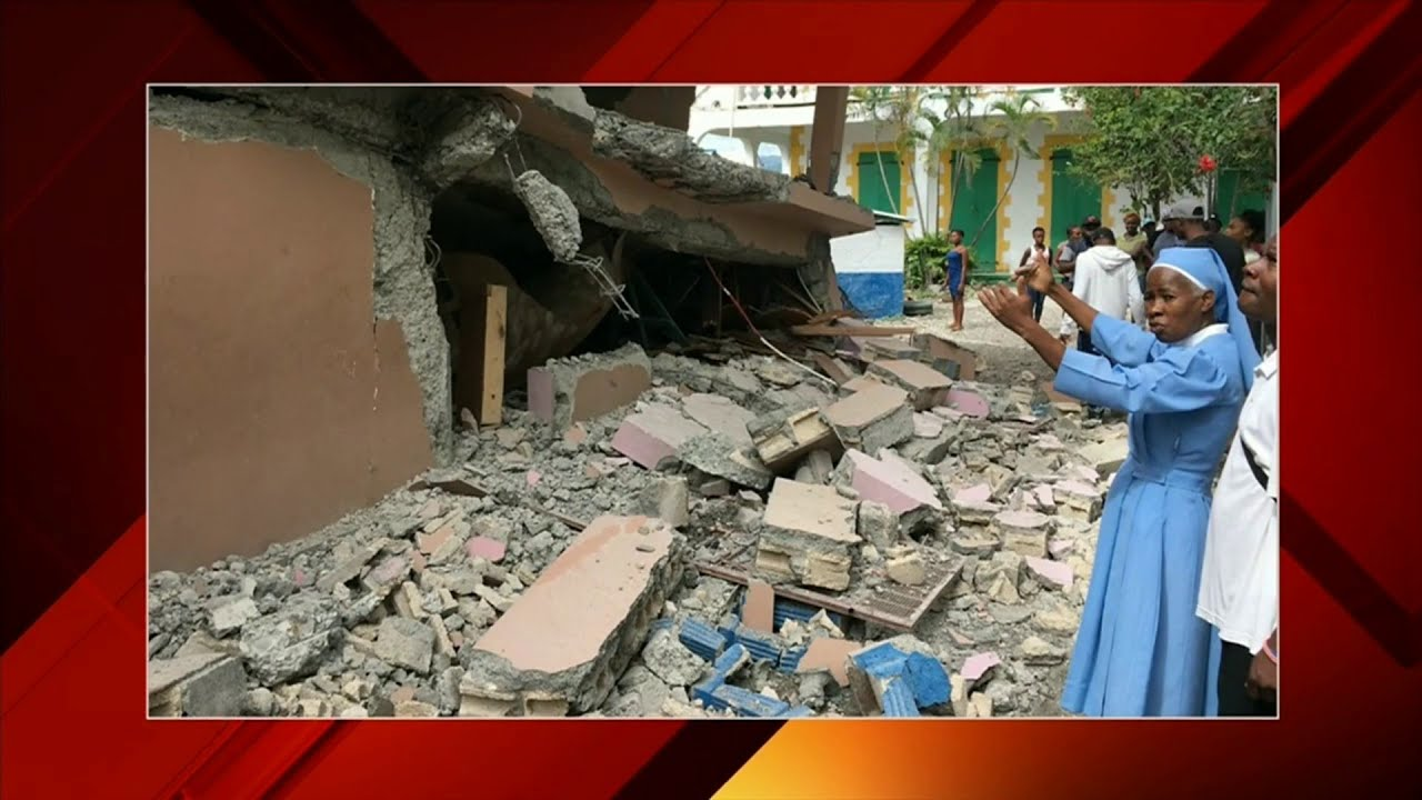 Haiti reels after island rocked by magnitude 5.9 earthquake