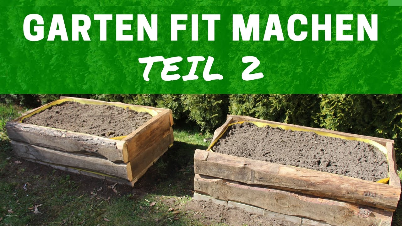 hochbeete selber bauen! how to build raised beds | #garten