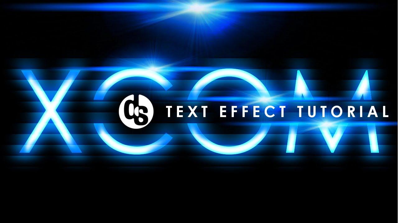 gimp | xcom futuristic text effect tutorial | NO PHOTOSHOP