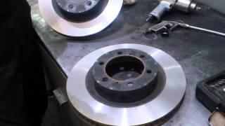 Проточка тормозных дисков Toyota Land Cruser Prado