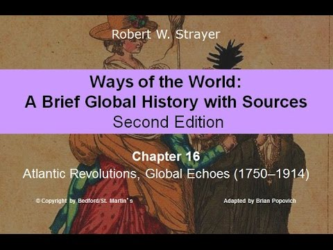 Chapter 16: Atlantic Revolutions