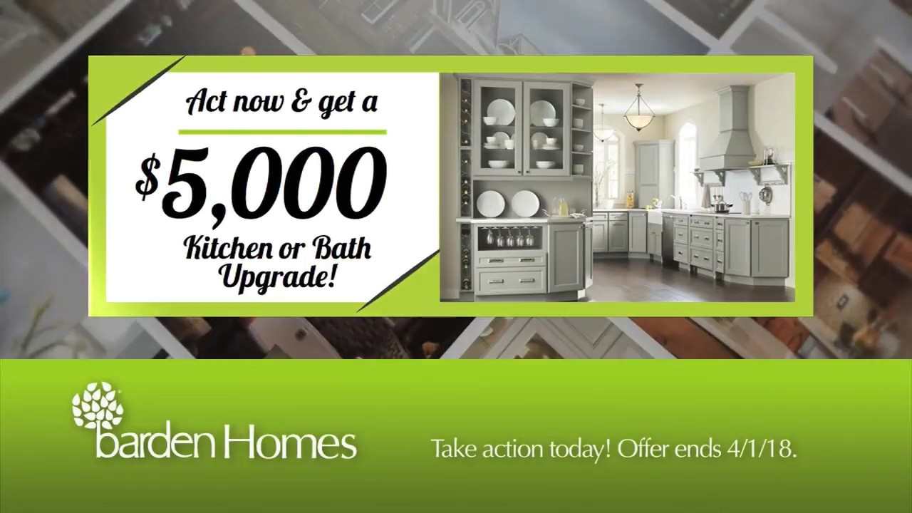barden homes tv commercial 5 000 kitchen or bath upgrade