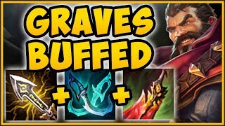 WHAT IS RIOT THINKING?? NEW BUFFED GRAVES IS 100% BROKEN AGAIN! GRAVES TOP S9! - League of Legends
