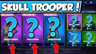 ❌2 SKULL TROOPER SKINS in SHOP!! (HALLOWEEN SKINS) 😱 - NEW OBJECT SHOP in FORTNITE is DA!!