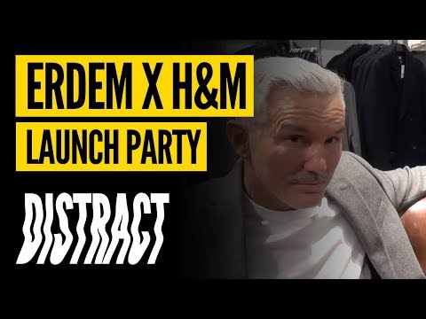 Erdem x H&M: Launch Party, Baz Luhrmann Interview + Years & Years Live