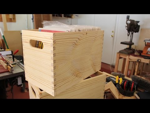 Making a Crate to Hold Your Comic Books