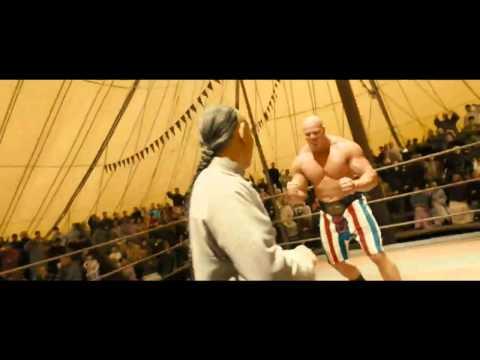 Fearless Jet Li 2006 vs American Giant Wrestler Nathan Jones